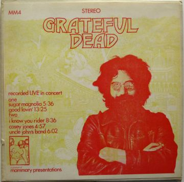Grateful Dead Live in Concert bl