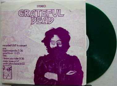 Grateful Dead Live in Concert gree