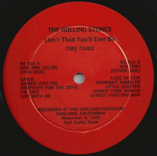 Rolling Stones LiveR cartoon lbl