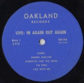 Rolling Stones LiveR Oakland 1