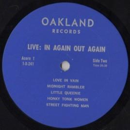 Rolling Stones LiveR Oakland 2