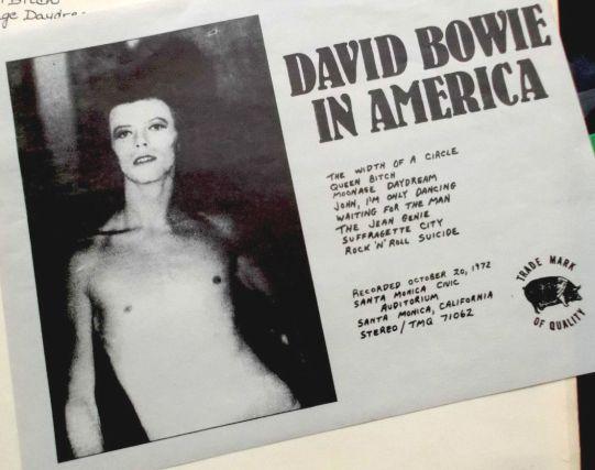 Bowie In America insert 2