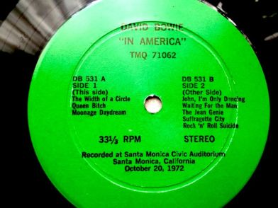 Bowie In America lbl