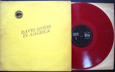 Bowie In America red