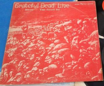 Grateful Dead Live red II