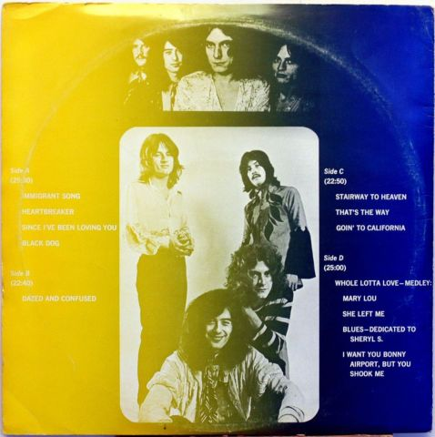 Led Zeppelin 'GOING TO CALIFORNIA' (a WCF copy, # 1973) and
