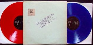 Led Zep G T Cali red blu