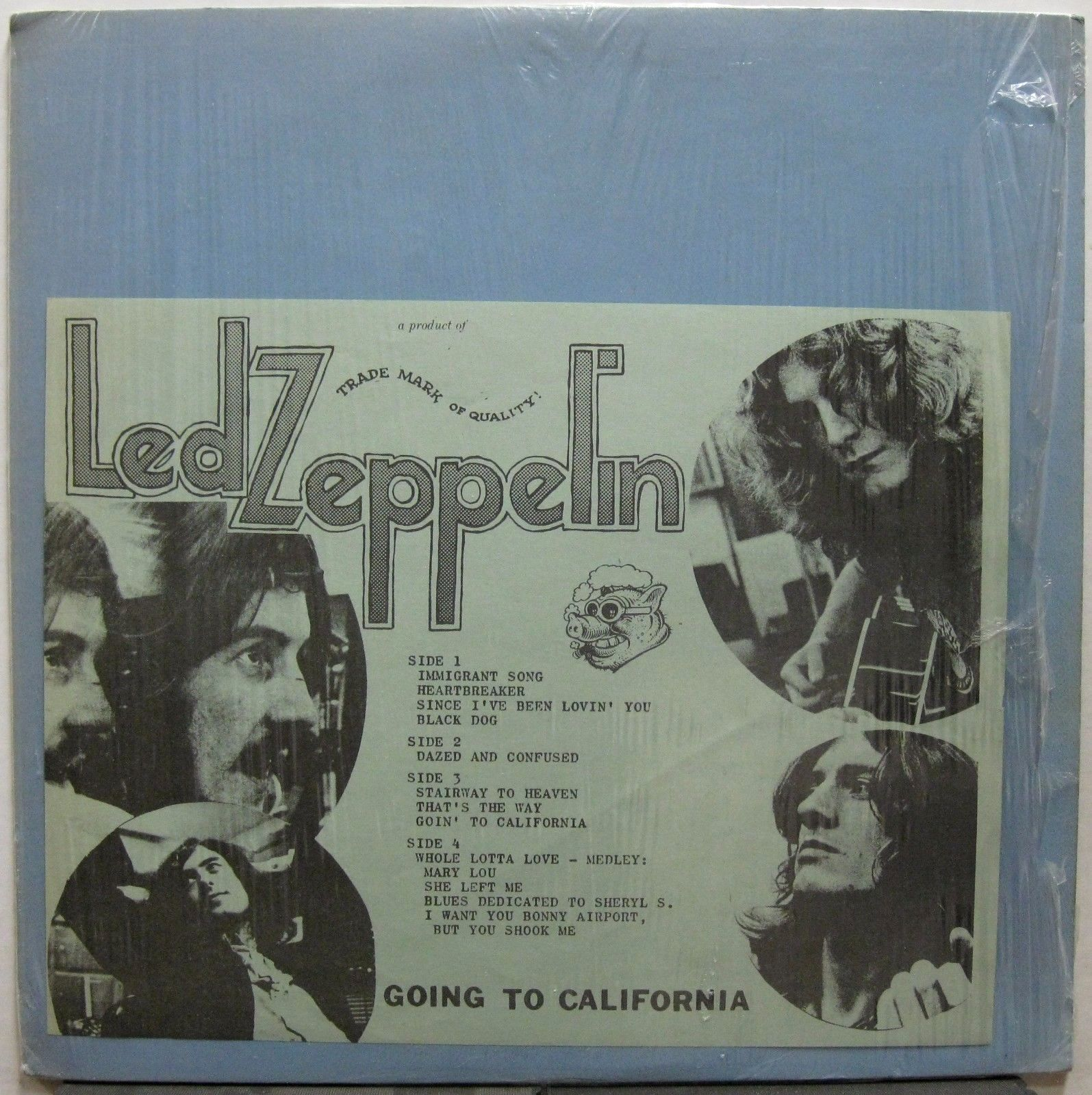 Led Zeppelin Going To California A Wcf Copy 1973