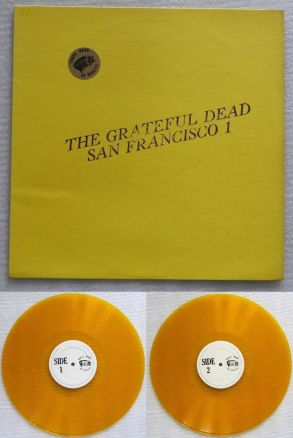 Grateful Dead SF 1 gold