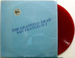 Grateful Dead SF red